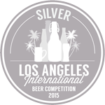 2015 LA International Beer Competition Silver Medal