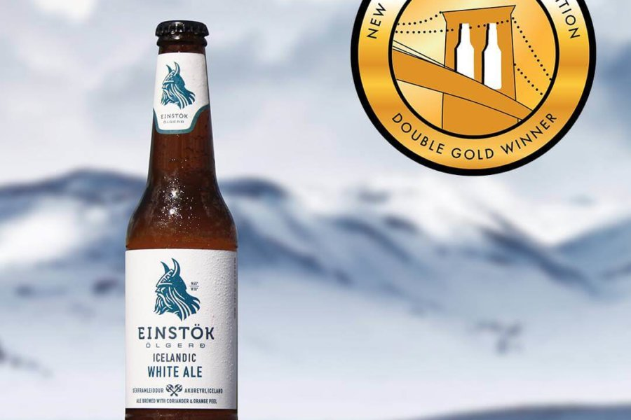 Einstök White Ale Receives Double Gold Status