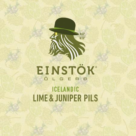 EINSTÖK ICELANDIC CRAFT BEER LAUNCHES LIME AND JUNIPER PILSNER