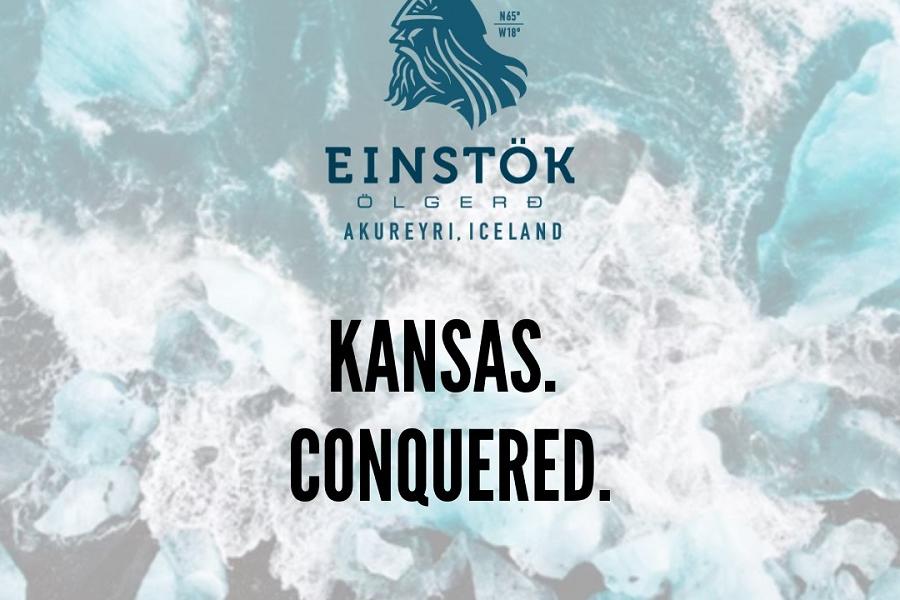 Einstok Beer Conquers Kansas
